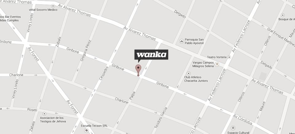 WANKACINE SRL - GIRIBONE 812 C1427CAF // T. 5411 45 53 09 98